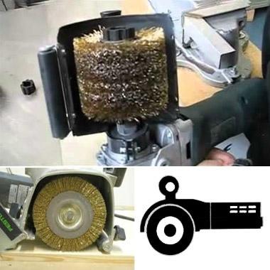 Щетки для ручных щеточных шлифовальных машин