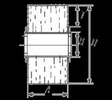 размеры Валки для щеточных шлифовальных машин