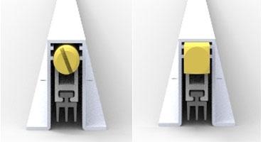 Автоматические пороги серии 101SF02