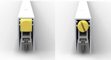 Автоматические пороги серии 103SF02