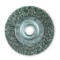 Дисковые щетки Ø50-100, стальная гофрированная проволока