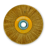 Цилиндрические щетки Ø150-300, латунная гофрированная проволока