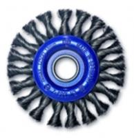 Дисковые щетки для УШМ Ø75-230, стальная жгутовая проволока