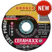Круги отрезные CERAMAXX для толстостенного профиля из черной и нержавеющей стали