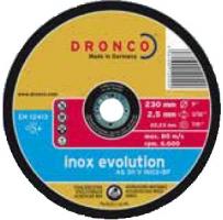 Круги отрезные  INOX EVOLUTION для труб и профилей из черной и нержавеющей стали