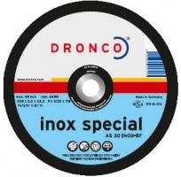 Круги отрезные  INOX SPECIAL для нержавеющей стали с возможностью реза черного проката