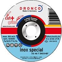 Круги отрезные  INOX SPECIAL c возможностью зачистки