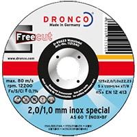 Круги отрезные конические  INOX SPECIAL c технологией FREE CUT (свободный рез)