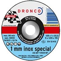 Круги отрезные INOX SPESIAL для тонкой нержавеющей стали