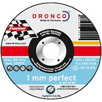 Круги отрезные DRONCO PERFECT для  стали малой толщины