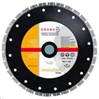 Алмазные диски для бетонных  и каменных плит EVOLUTION TURBO