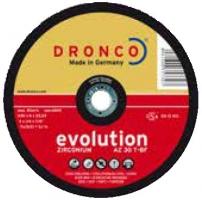 Круги зачистные EVOLUTION с оксидом алюминия для нержавеющей стали