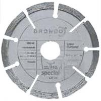 Диски алмазные для зачистки швов в кирпичной кладке   LTF 76