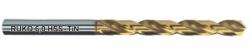 Спиральные сверла HSS-G TiN с цилиндрическим хвостовиком