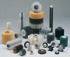 Цилиндрические щетки для мойки стекла, очистки ленты конвейера, транспортеров