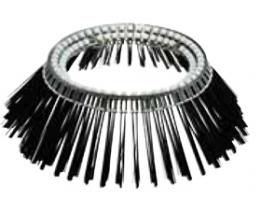 Лотковые щетки с металлическим корпусом, стальной ворс
