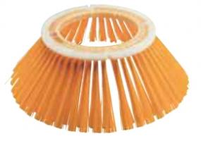 Лотковые щетки с пластиковым корпусом, залитые, полипропилен