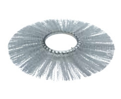 Щеточные диски - кольца Ø300-915 мм, прямые, сталь