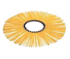 Щеточные диски - кольца Ø300-915 мм, прямые, полипропилен
