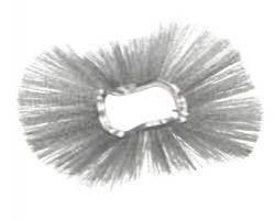 Щеточные диски - кольца Ø300-915 мм, изогнутые, сталь