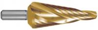 Конусные сверла HSS-G TiN со спиралевидной канавкой
