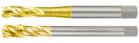 Метчики машинные М, метрическая резьба, для глухой резьбы, HSS-G TiN