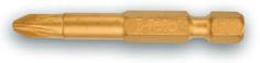 Биты-насадки PZ (крестовые) 50 мм, TiN