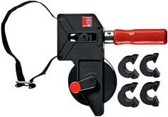 Струбцина ременная с устройствами для подгонки углов