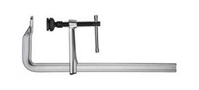 Струбцина для сварки F-образная цельно-металлическая с высоким усилием зажима, с Т-рукояткой