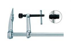 Струбцины F-образные цельнометаллические для стропил, с Т-рукояткой